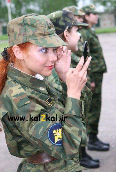 سربازی رفتن خانوم ها